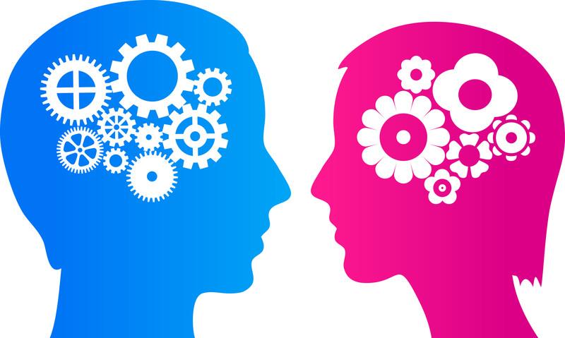 голова мужчины и женщины