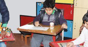 Развивающие занятия с умственно отсталыми детьми