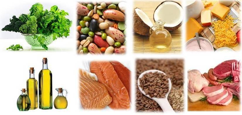 жирные кислоты в еде