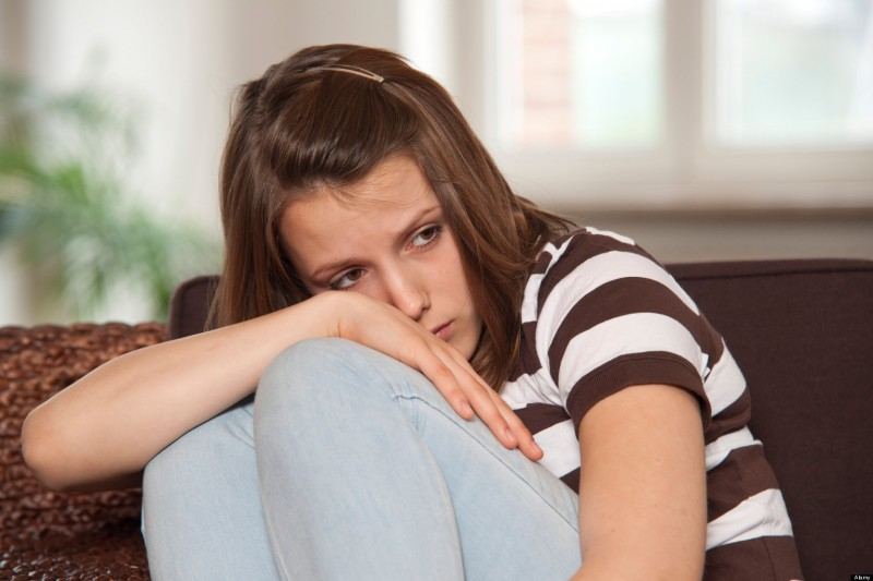 депрессивный подросток